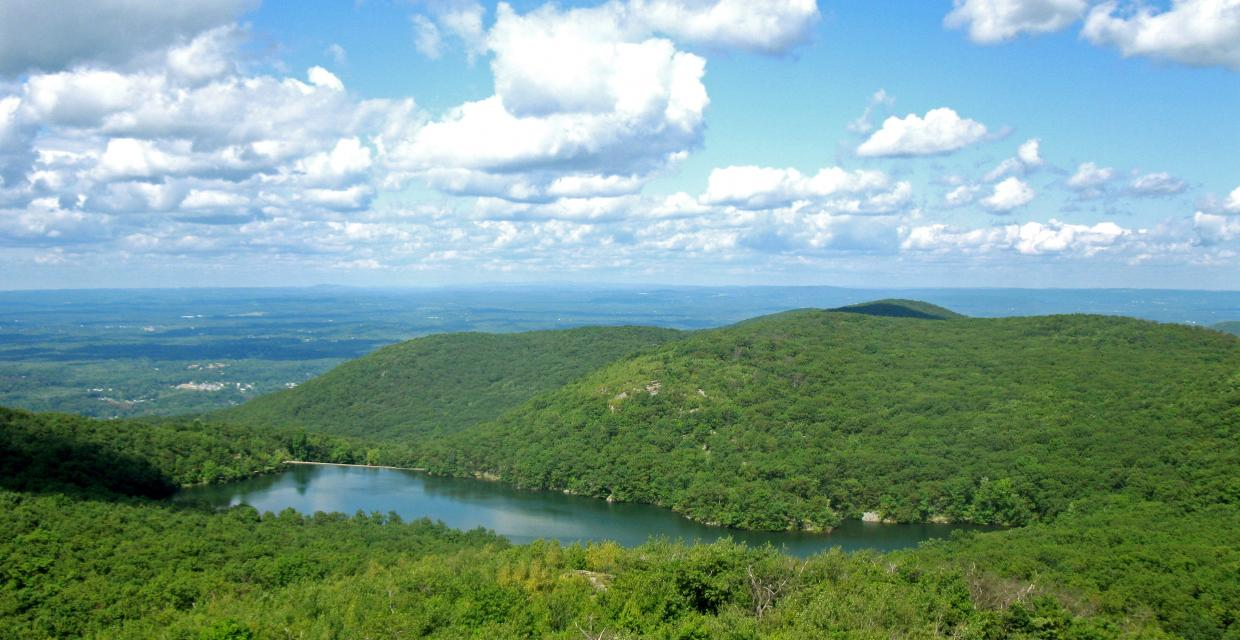 Beacon Reservoir from the Mount Beacon Fire Tower - Photo credit: Daniel Chazin