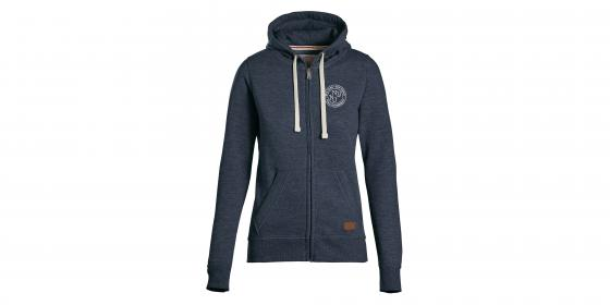 Full-Zip Fleece Hoodie - Women's