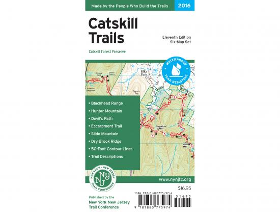 Catskill Trails Map Cover