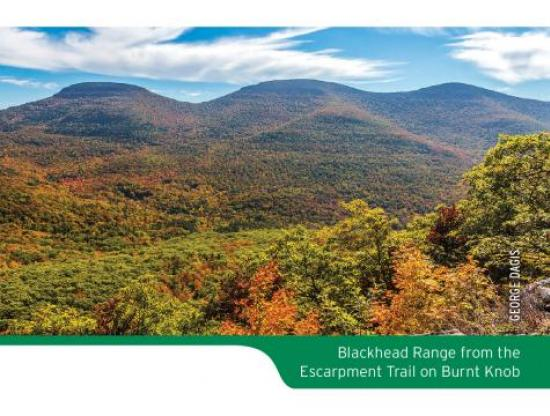 Catskill Trails Map Scenic Photo